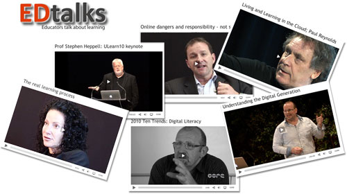 EDtalks for education videos