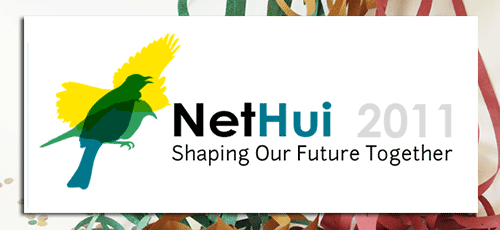 NetHui 2011: Shaping our future together