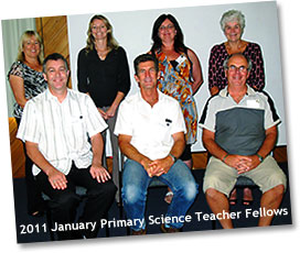 Primary Science Teacher Fellows January 2011