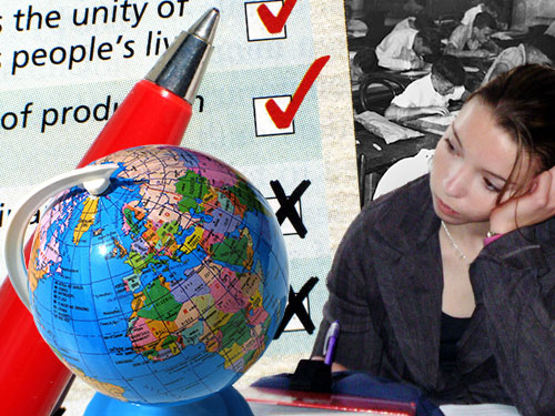 exam-based system and disaffected youth