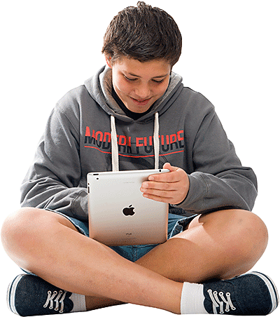 Bring your own device: student with device