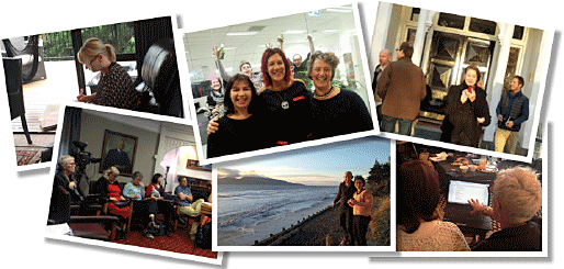 Snapshots of the 2014 eFellows' journey so far. Serious work, and serious fun.