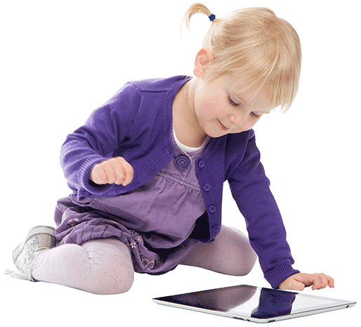 Child and Tablet