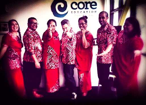 CORE Pasifika Team celebrate Tonga Language Week