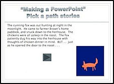 Pick a path story: PowerPoint