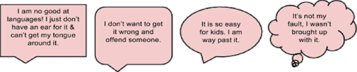 speech bubbles pink