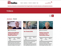 EDtalks website