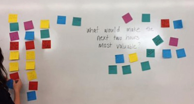 post-it-note inquiry