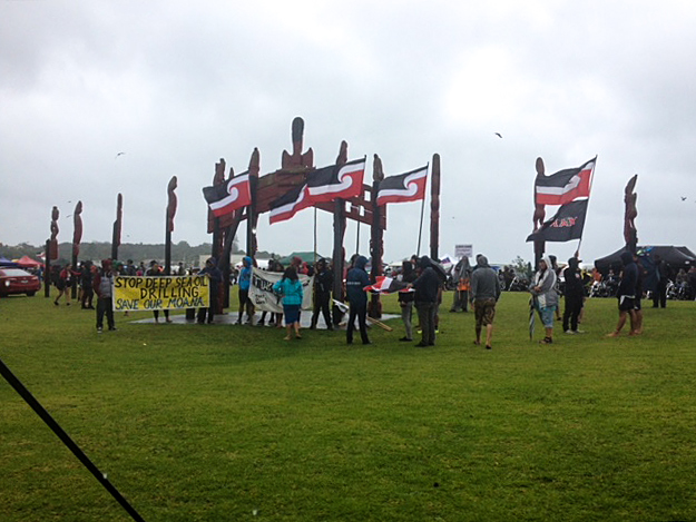 waitangi protests