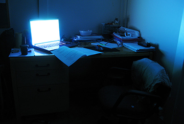 lonely desk