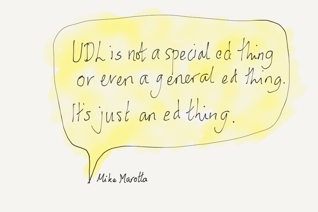 Why UDL is valuable