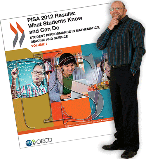Derek Wenmoth ponders the PISA Results for 2012